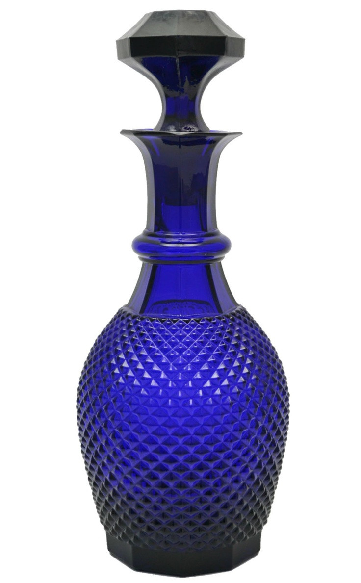 antique bristol blue glass vase of best 190 farget pressglass ideas on pinterest crystals vintage throughout bristol blue knob pressed glass decanter