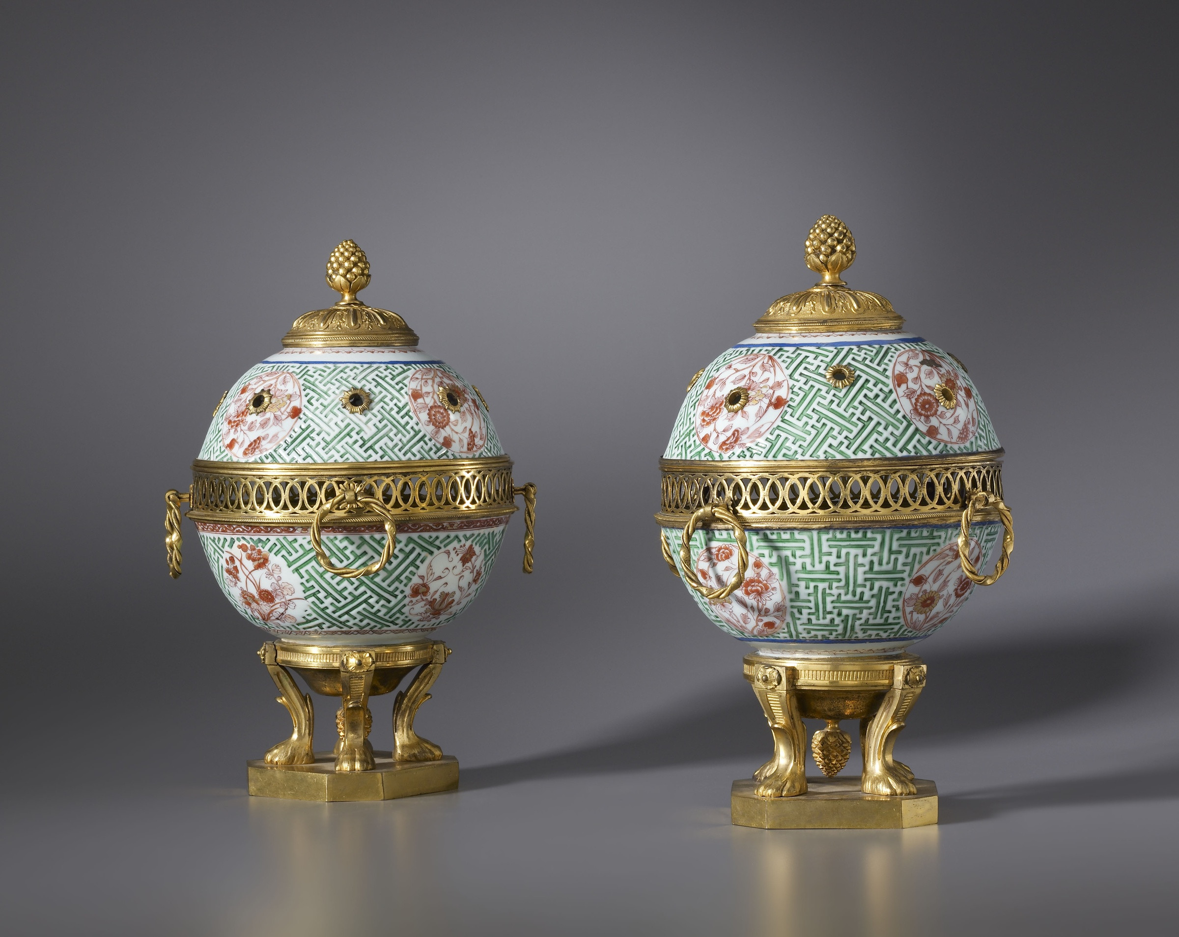 antique chinese porcelain vases of unknown a pair of ragence pot pourri vases with lid the porcelain for a pair of ragence pot pourri vases with lid
