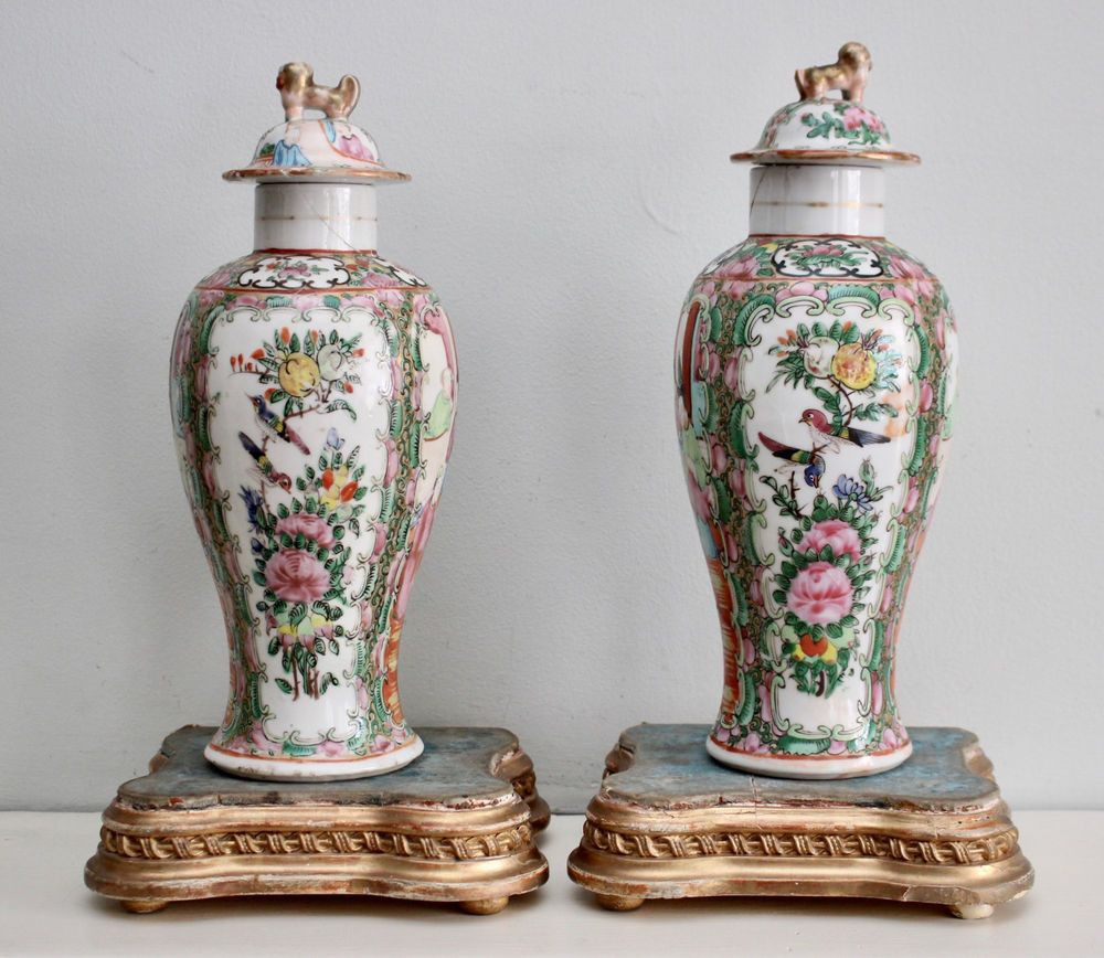 antique chinese vases of a pair antique c19th chinese famille rose cantonese lidded baluster with a pair antique c19th chinese famille rose cantonese lidded baluster vases