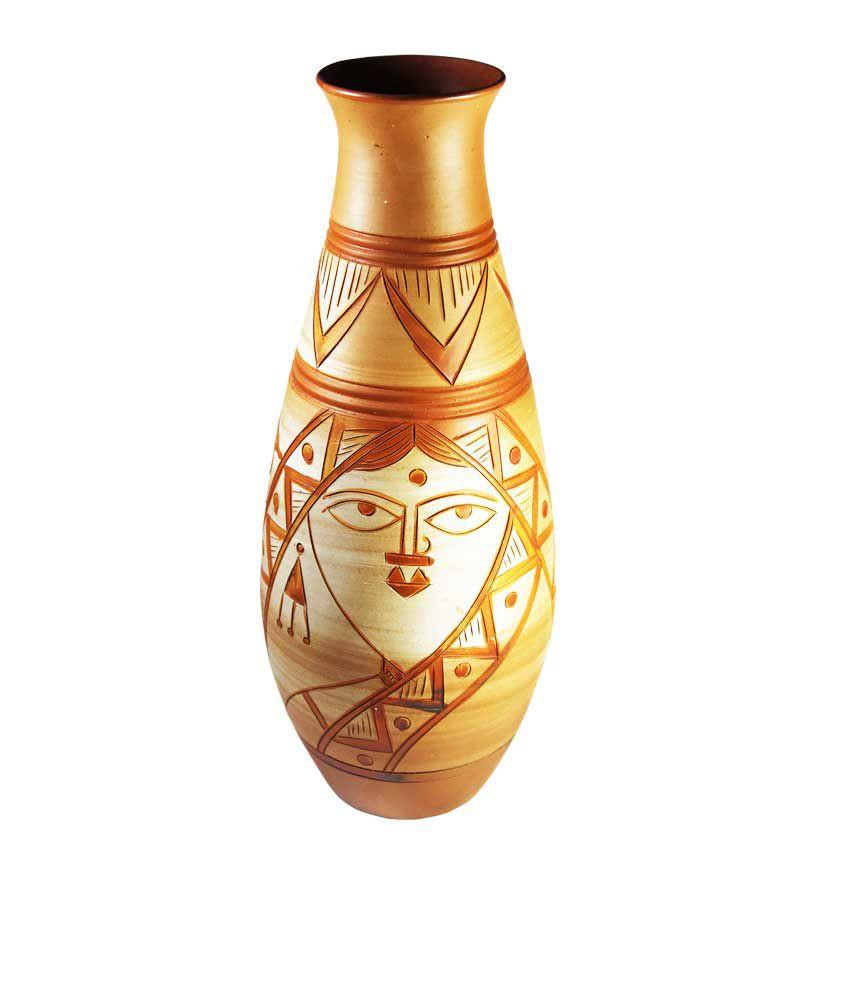Antique Face Vases Of Tatvam Terracotta Handmade Flower Pot Design 4 Buy Tatvam In Tatvam Terracotta Handmade Flower Pot Design 4