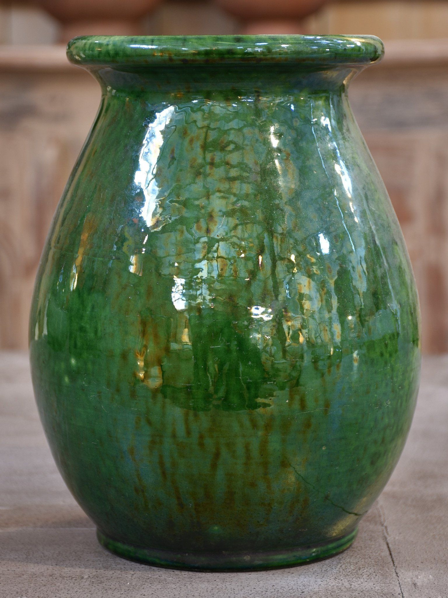 antique green vase of green vintage vase vallauris vintage pottery french antiques throughout green vintage vase vallauris