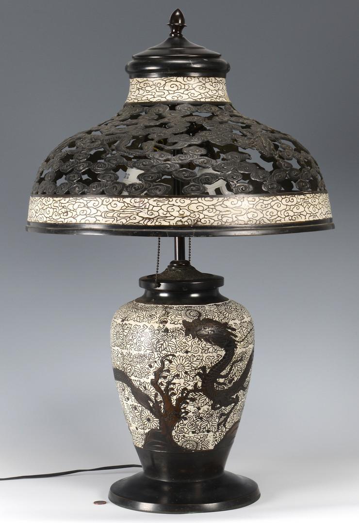 antique japanese cloisonne vases of lot 3594157 japanese cloisonne bronze lamp pertaining to 3594157 1