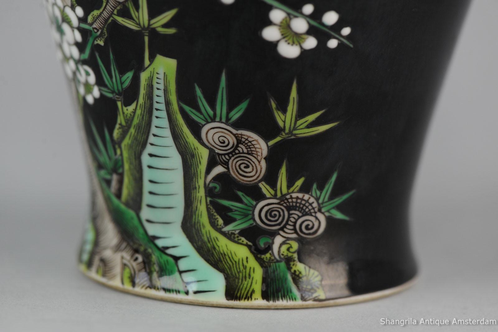 antique japanese metal vases of shangrila antique for sold