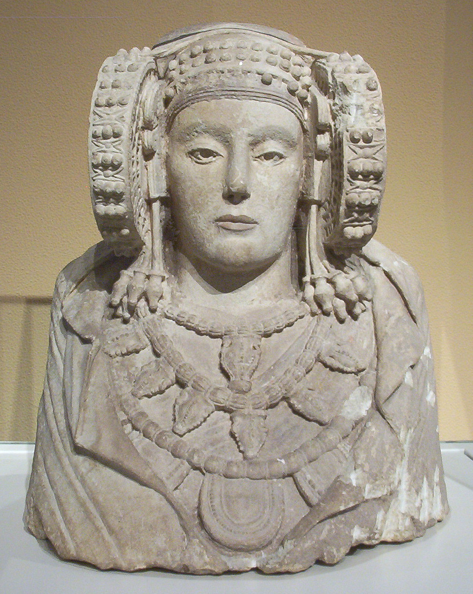 antique lady head vases of lady of elche wikipedia intended for dama de elche m a n madrid 01