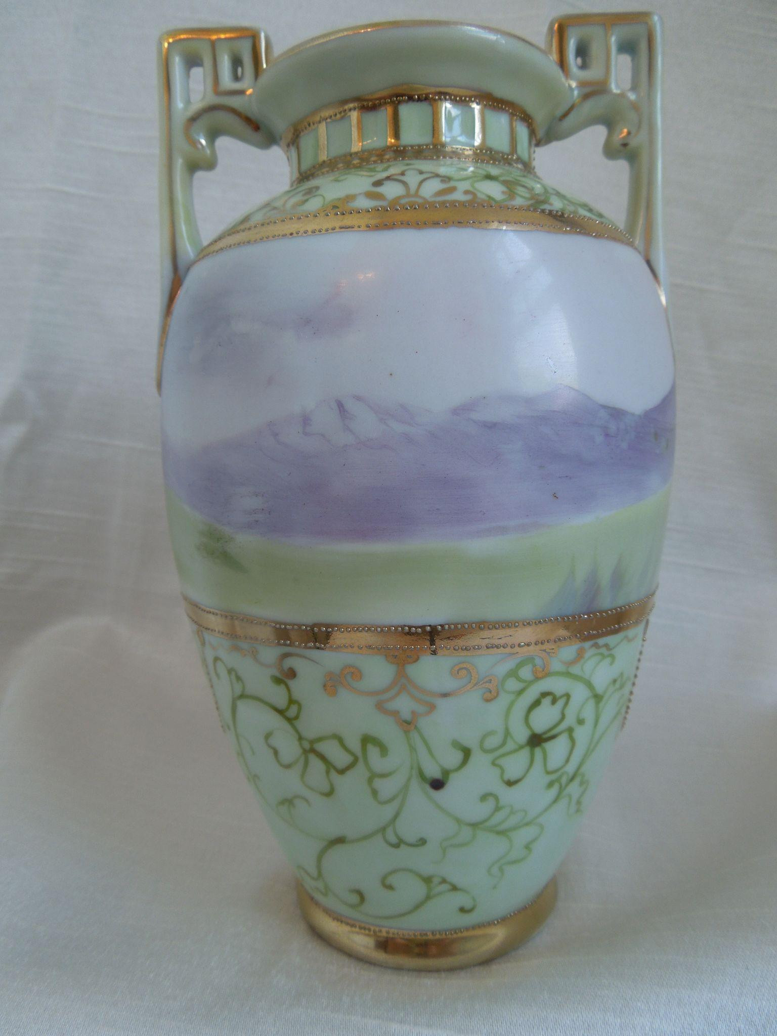 16 Lovely Antique Nippon Vases