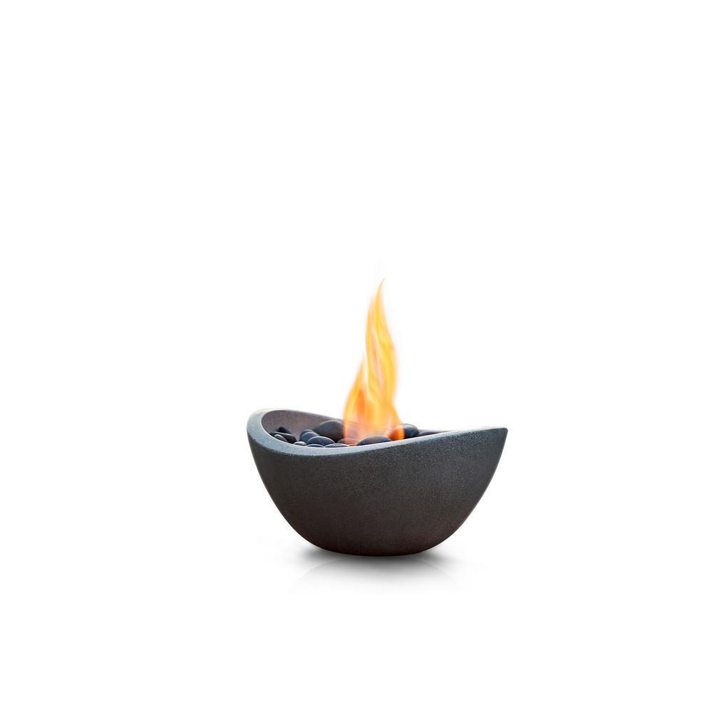antique orange glass vase of terra flame wave fire bowl od tt wav bge 03n the home depot intended for terra flame wave fire bowl