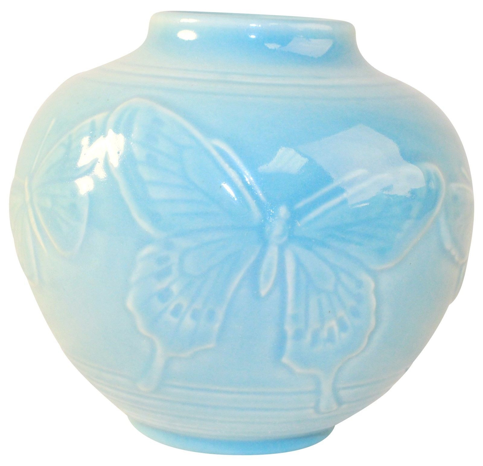 antique rookwood pottery vases of rookwood pottery 1947 blue butterfly vase 6509 rookwood pottery pertaining to rookwood pottery 1947 blue butterfly vase 6509