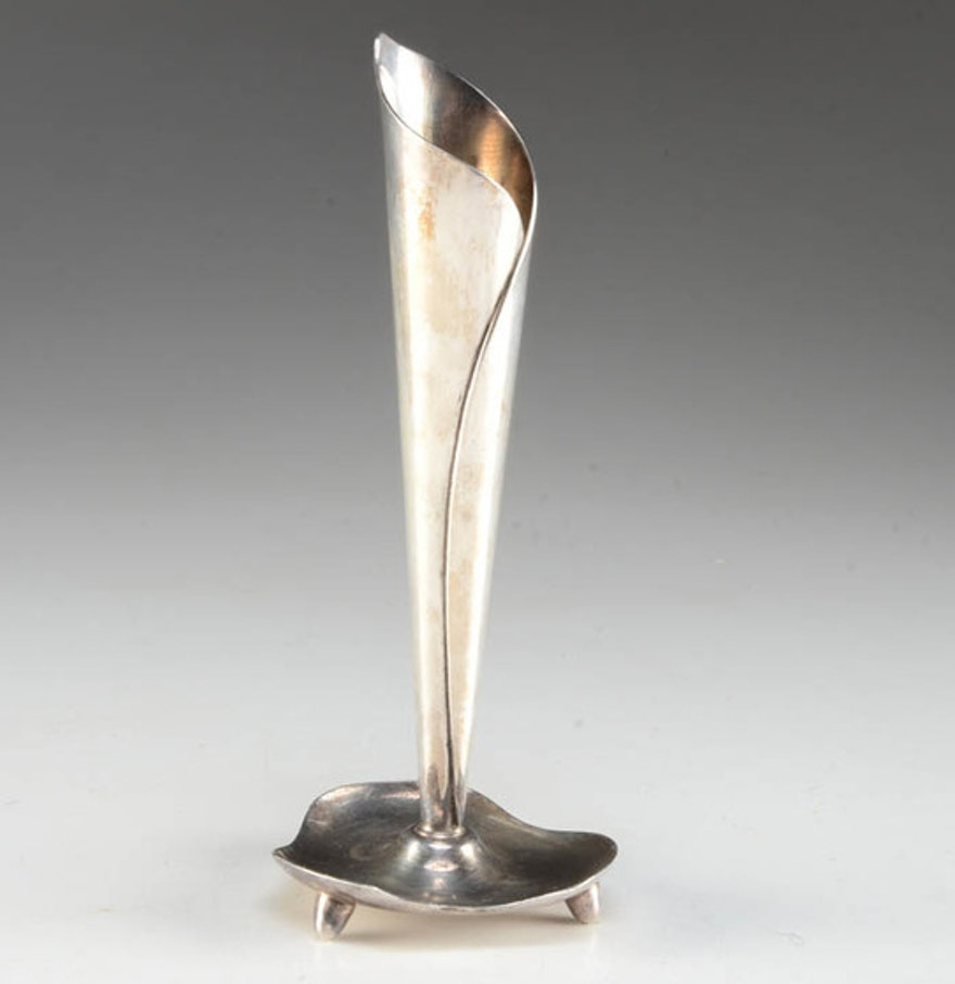 antique sterling silver bud vase of snap hans jensen danish vintage silverplate bud vase photos on pinterest pertaining to hans jensen silver plate calla lily bud vase ebth