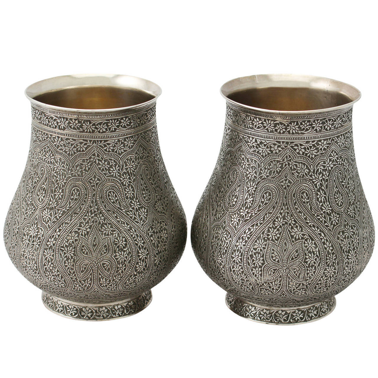 antique sterling silver bud vase of sterling silver vase antique best 2000 antique decor ideas throughout pair of indian sterling silver vases antique circa 1880 at 1stdibs