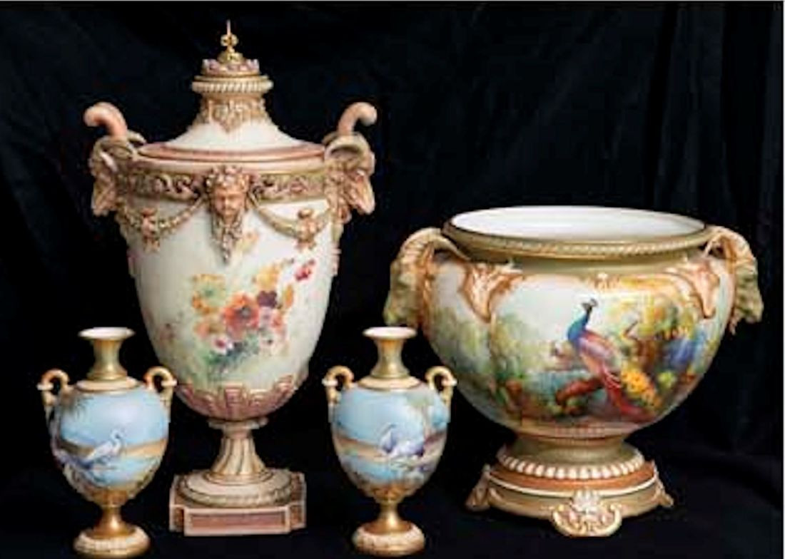 antique vases hand painted of austiques antique shop glebe for part of our collection of royal worcester