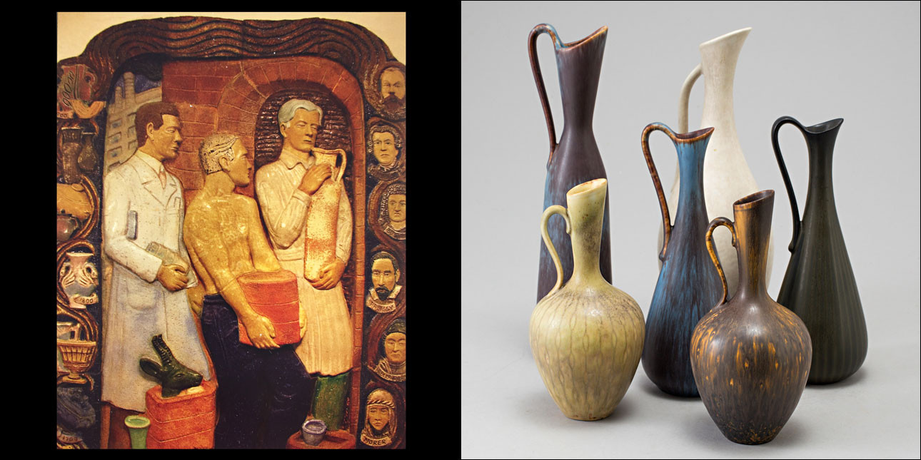 antique vases worth money of buy gunnar nylund pottery from rorstrand and nymolle pertaining to gunnar nylund 5