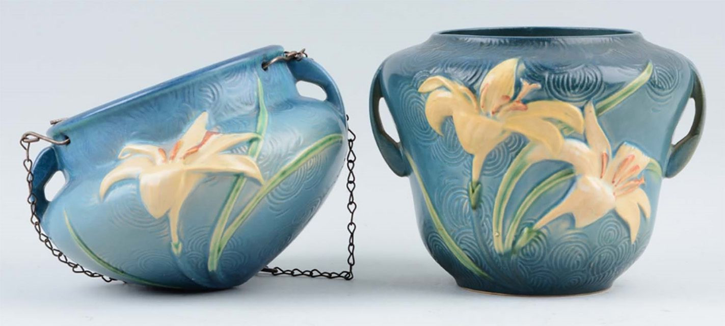antique vases worth money of roseville pottery identification and value guide with rosevillelily 582509405f9b58d5b1fc9a2e