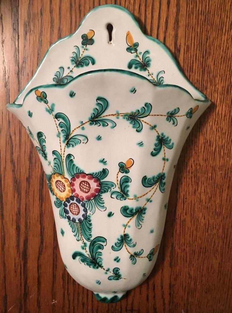 Antique Wall Pocket Vases Of Ceramic Wall Pocket Vases Www topsimages Com Throughout Antique Italian Ceramic Pottery Floral Wall Pocket Vase Vintage Jpg 799x1080 Ceramic Wall Pocket Vases