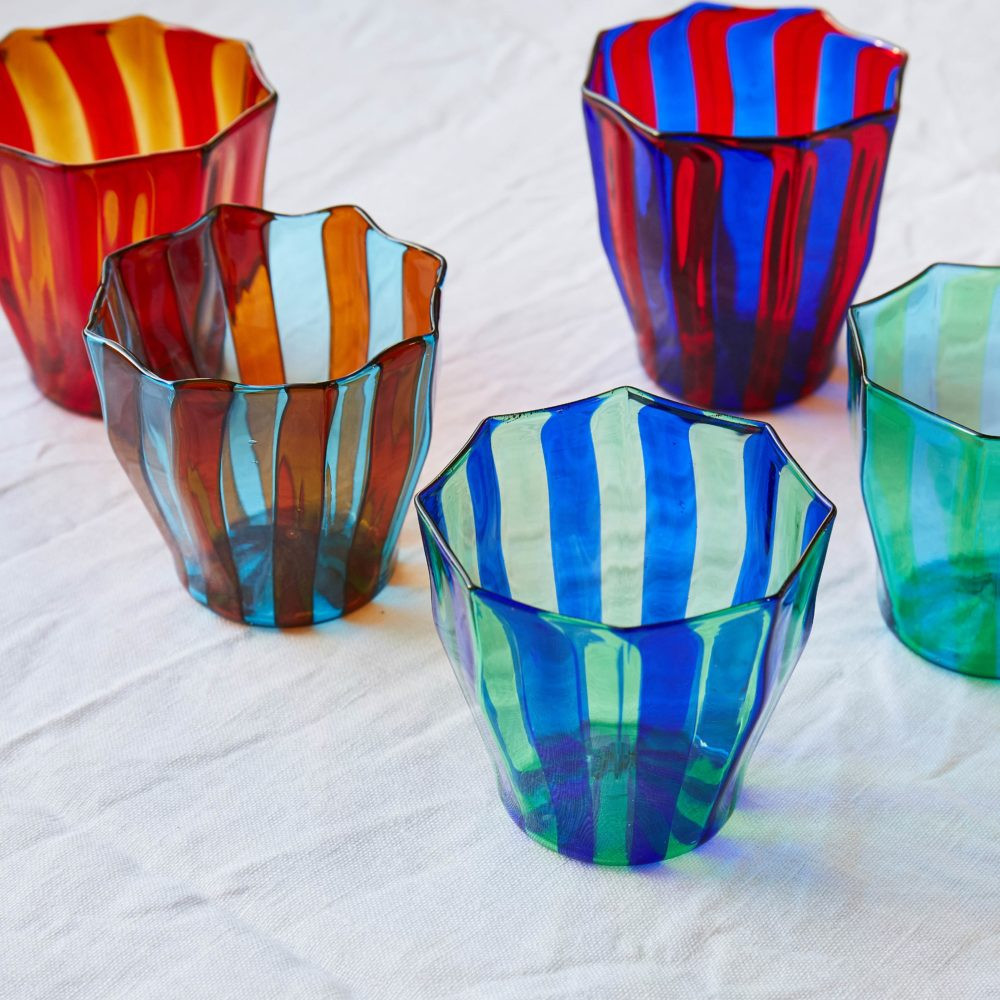 aqua colored glass vases of rosanna murano glass collection campbell rey intended for rosanna murano glass collection