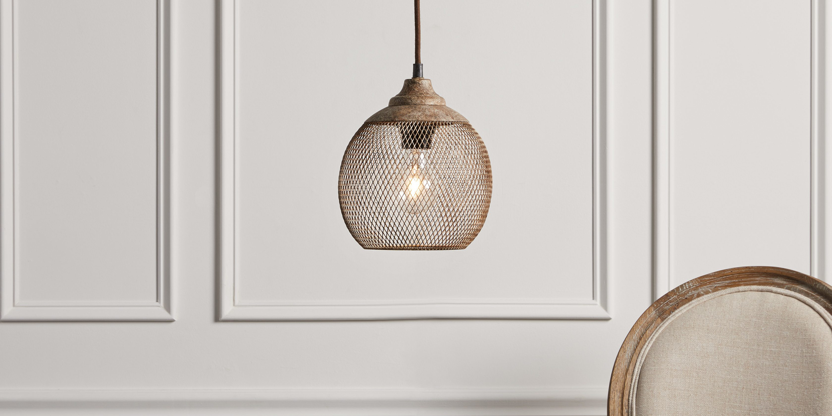 arhaus wall vase of lanister mesh pendant arhaus furniture intended for product largestandard 652036l044 2