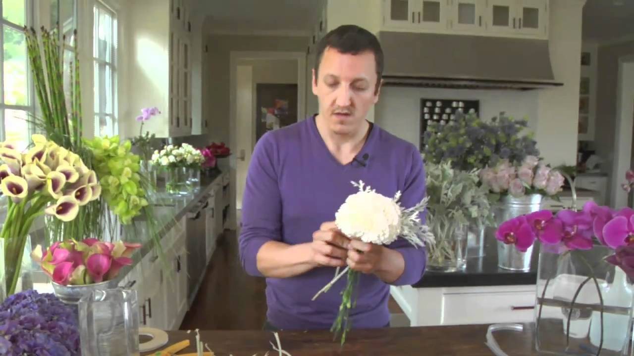 Arranging Flowers In A Round Vase Of How to Arrange Flowers and Create Simple Bouquets Pottery Barn for How to Arrange Flowers and Create Simple Bouquets Pottery Barn Youtube