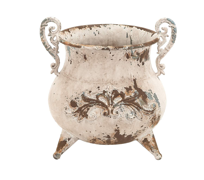 Art Deco Vases Antique Of Amazon Com Deco 79 Classy Designed Metal Vase with Rusty Look and Pertaining to Amazon Com Deco 79 Classy Designed Metal Vase with Rusty Look and Antiqued Charm Home Kitchen