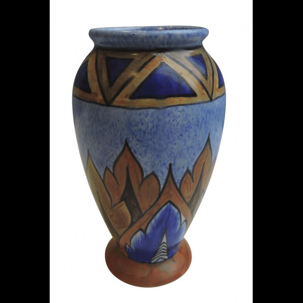 Art Deco Vases Antique Of Chameleon Ware Pottery Art Deco Vase Bernardis Antiques Throughout Chameleon Ware Pottery Art Deco Vase