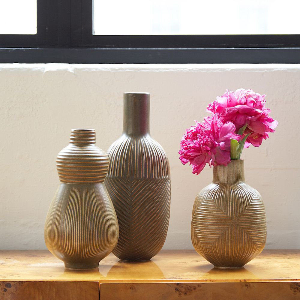 art deco vases wholesale of modern pottery we adore inside image5 56f6c5a95f9b582986674f7d