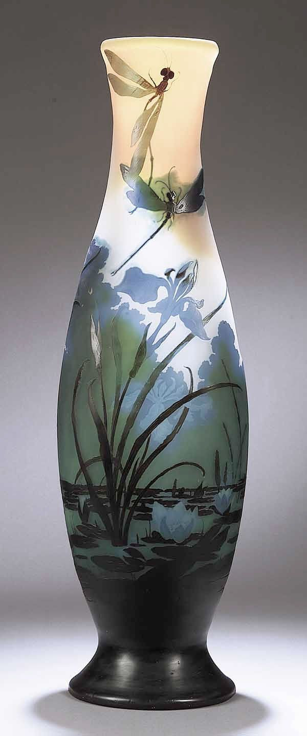Art Glass Vase Artists Of 407 Best Art Glass and Other Collectible Glass Images On Pinterest Pertaining to 0276 A Rare Monumental Art Nouveau Cameo Gl On