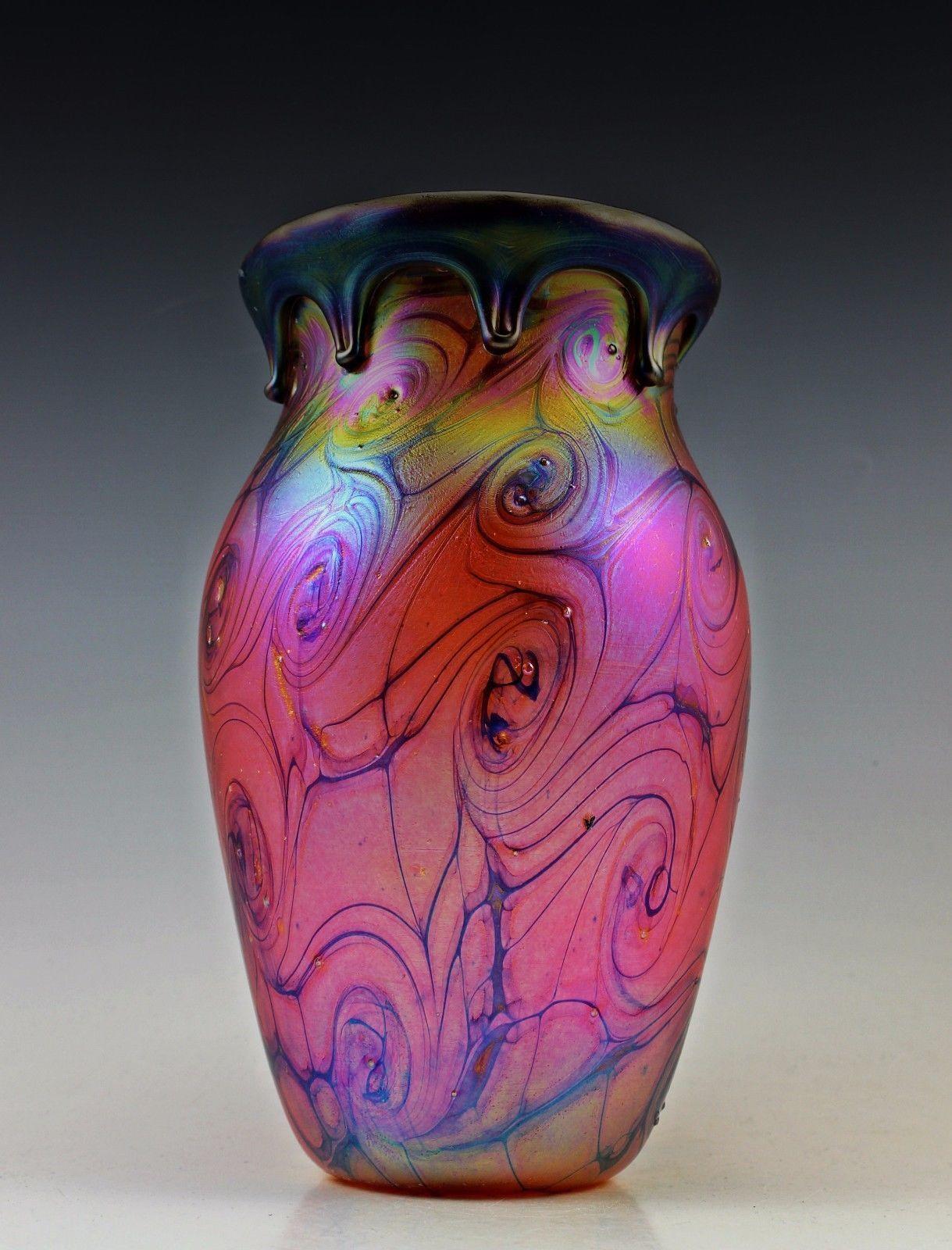 art nouveau glass vase of vintage art deco czech bohemian malachite glass horse head bust within bohemian czech art deco glass vase iridescent glass top quality picclick com