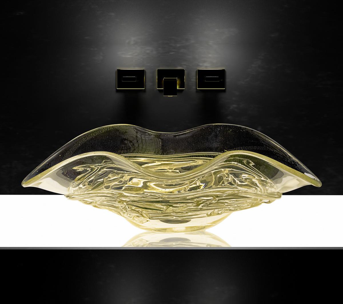 arte murano vase of lavabo kao skulptura od murano stakla in elegantna kolekcija arte