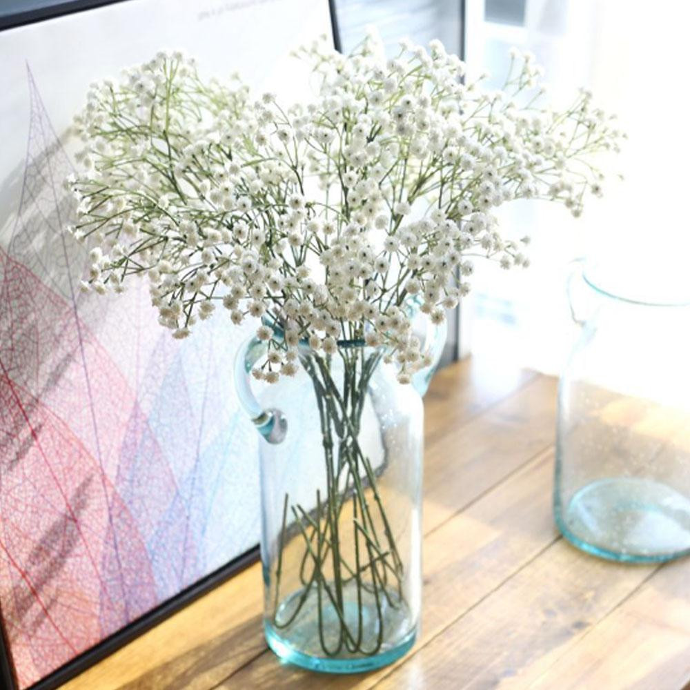 artificial branches for vases of artificial flowers 65cm gypsophila bouquet soft glue fake flower with regard to artificial flowers 65cm gypsophila bouquet soft glue fake flower office wedding home party decorative flower artificial flowers silk flowers decorative