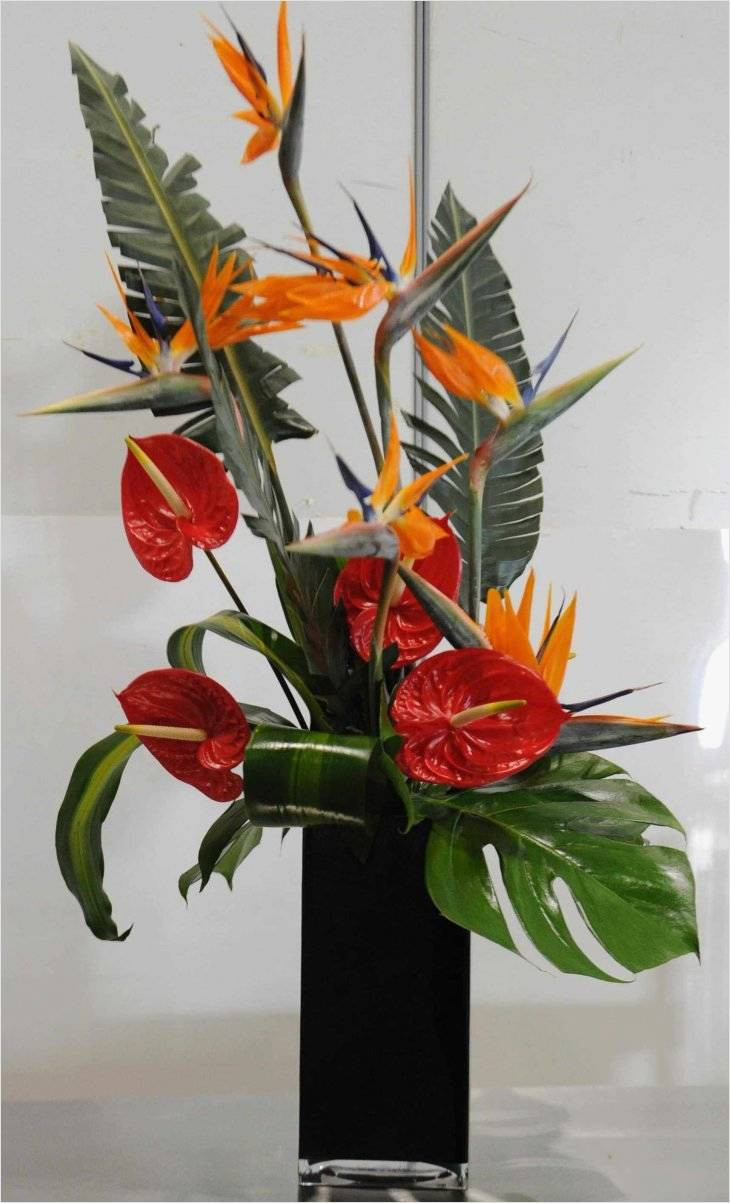 Artificial Flowers In Clear Vases Of Famous Ideas On Artificial Flower Arrangements In Vases for Best with Regard to Artificial Flower Arrangements In Vases Unique 60 Od Bird Paradise Red Anthurium Mixed Foliage 60