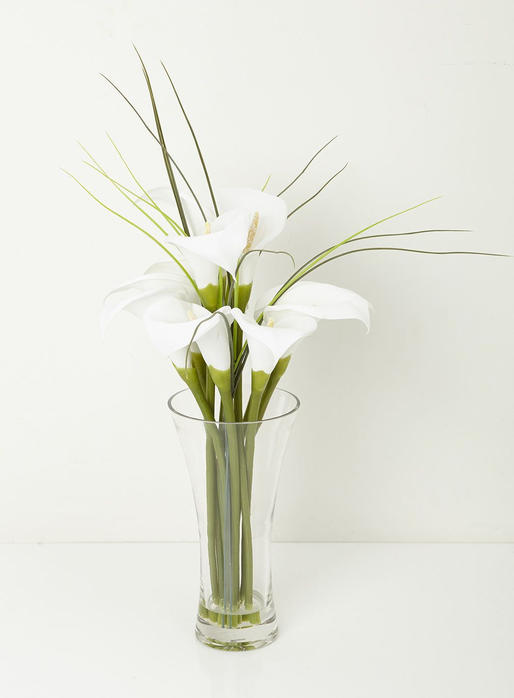 Artificial Lily Flowers In Vase Of Calla Lily In Clear Glass Vase Bhs A35 Stuff Pinterest Clear Throughout Calla Lily In Clear Glass Vase Bhs A35