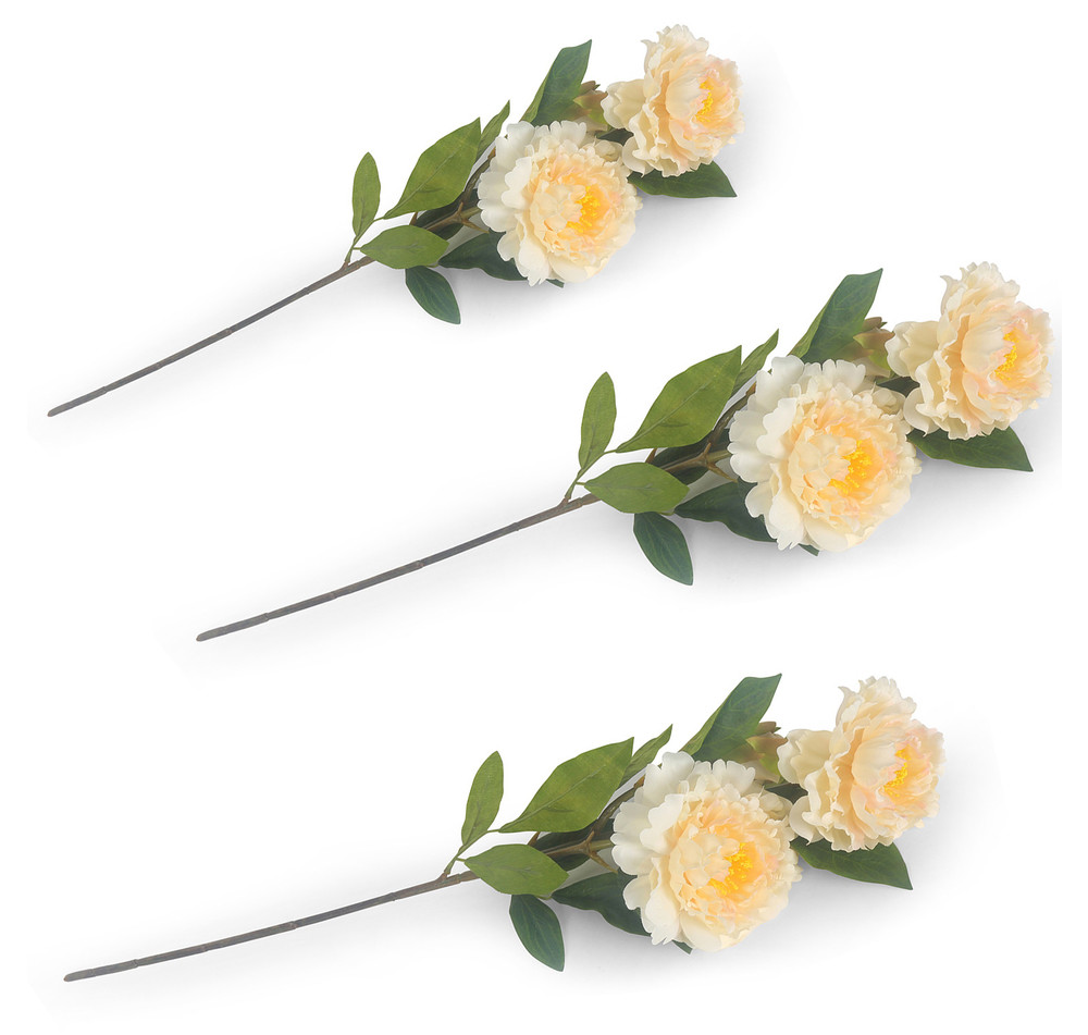 15 Trendy Artificial Peonies In Glass Vase 2021 free download artificial peonies in glass vase of buy peony flower stick set of 3 home by nilkamal cream online with peony flower stick set of 3 home by nilkamal cream