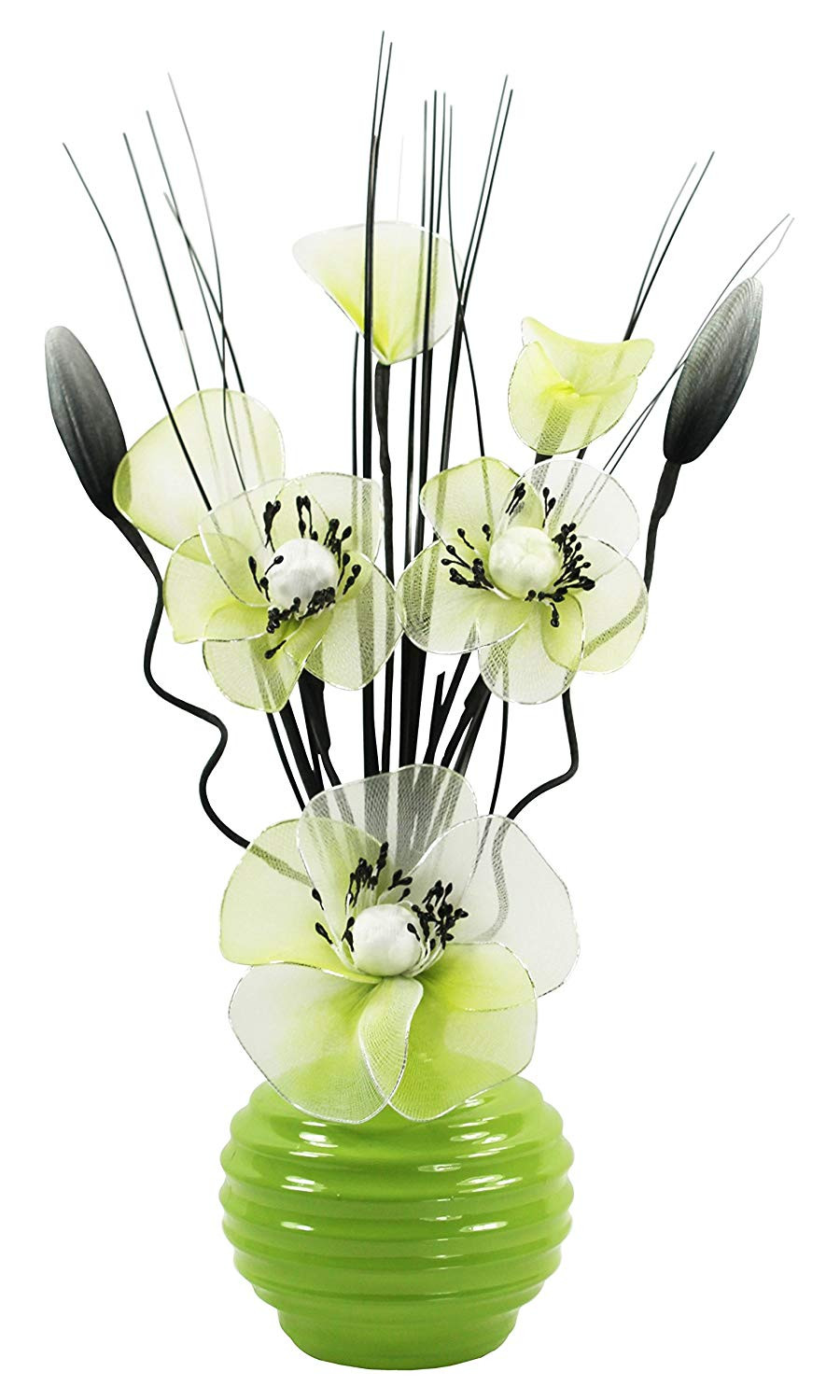 22 Elegant Artificial Roses In Glass Vase 2021 free download artificial roses in glass vase of green vase with green and white artificial flowers ornaments for with regard to green vase with green and white artificial flowers ornaments for living room