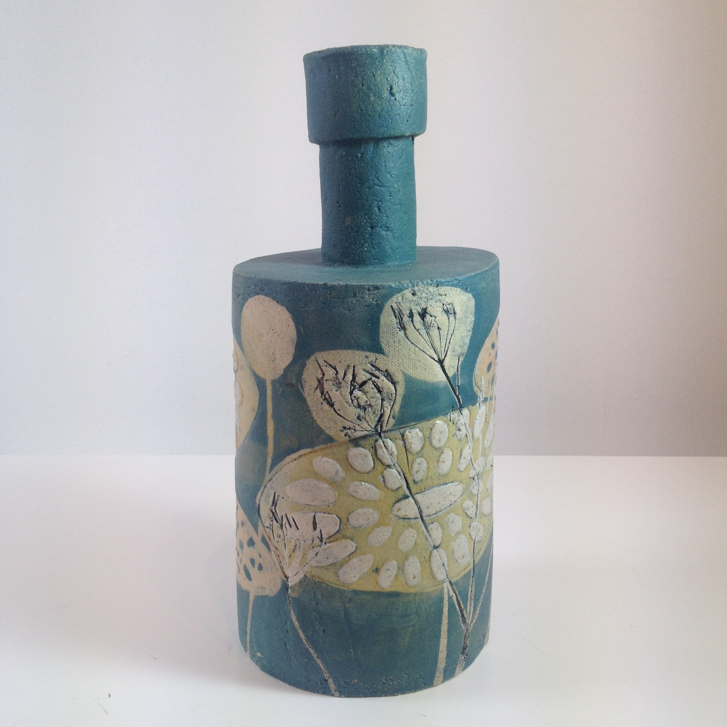 artistic ceramic vases of mollie brotherton tall ceramic bottle sarah wiseman gallery inside tall bottle share ceramic