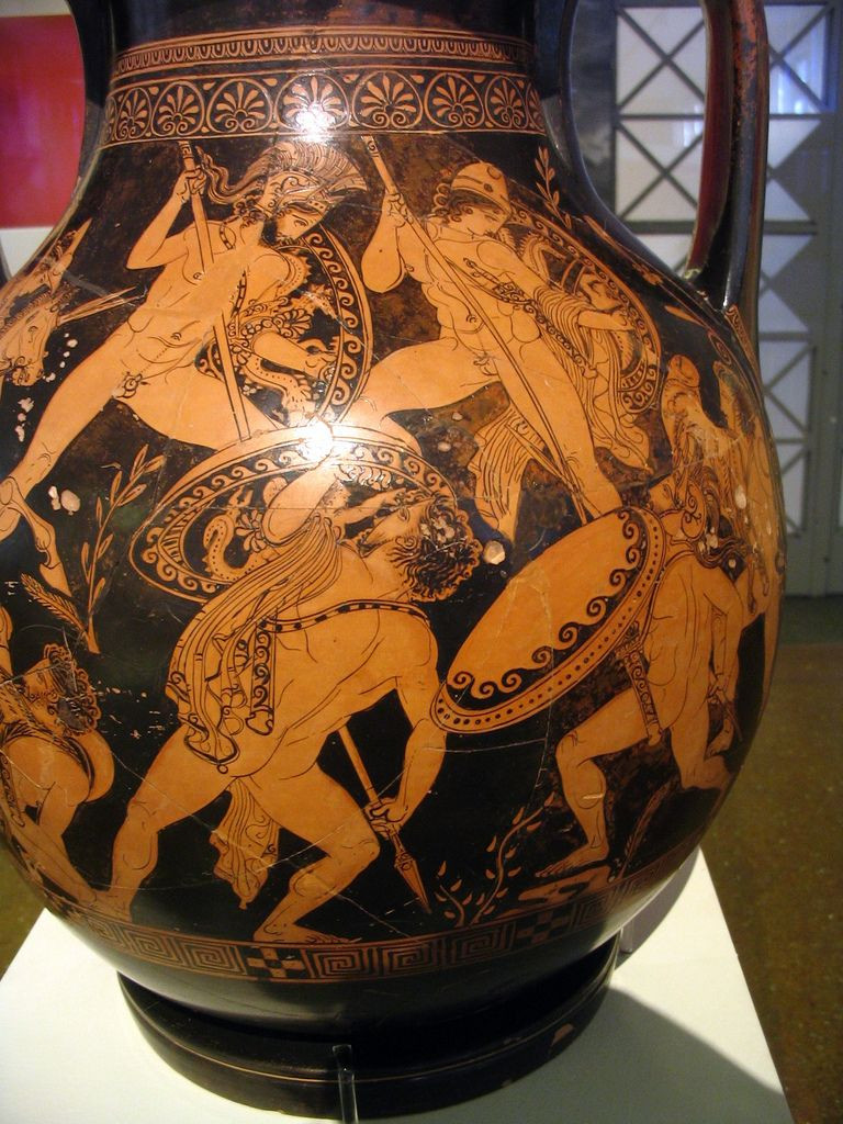 athenian black figure vases of athenian red figure pelike with a gigantomachy scene in the manner intended for athenian red figure pelike with a gigantomachy scene in the manner of the prono