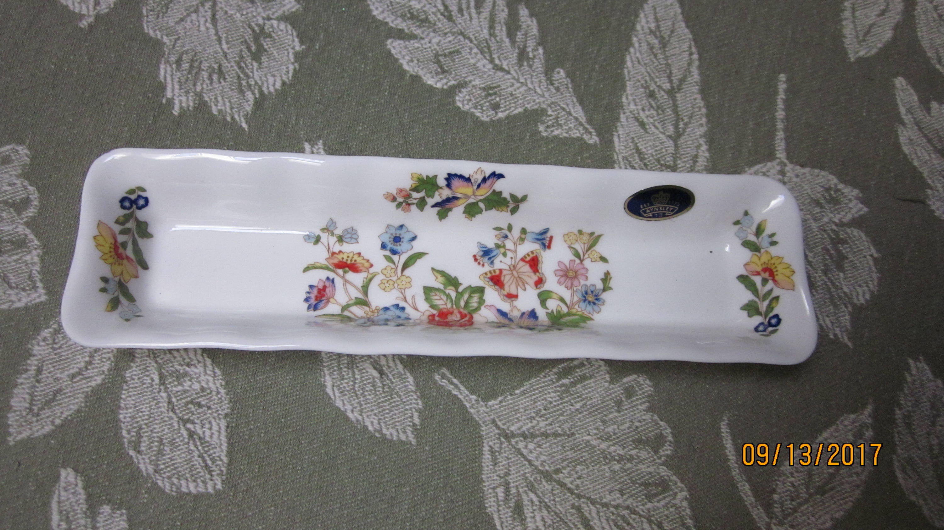 "aynsley china cottage garden vase of vtg bone china aynsley england olive tray cottage garden 8 etsy intended for dŸ""Žzoom"