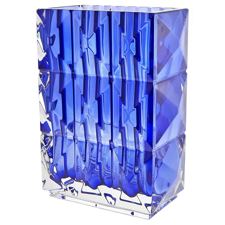 baccarat eye vase large of baccarat luxor vase blue baccarat crystals figurines gifts with regard to baccarat luxor vase blue