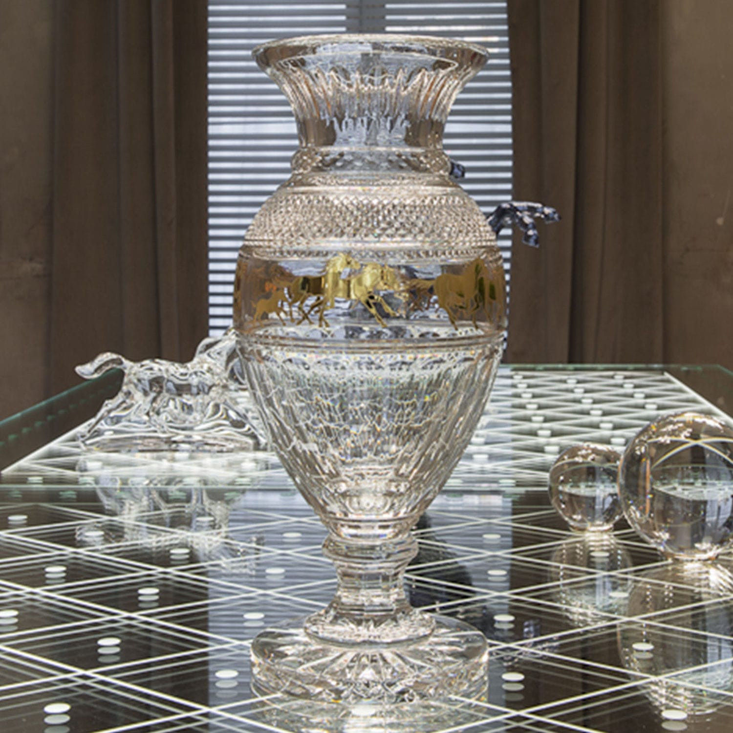 baccarat gingko crystal vase of traditional vase crystal cheval rally by allison hawkes baccarat intended for traditional vase crystal cheval rally by allison hawkes
