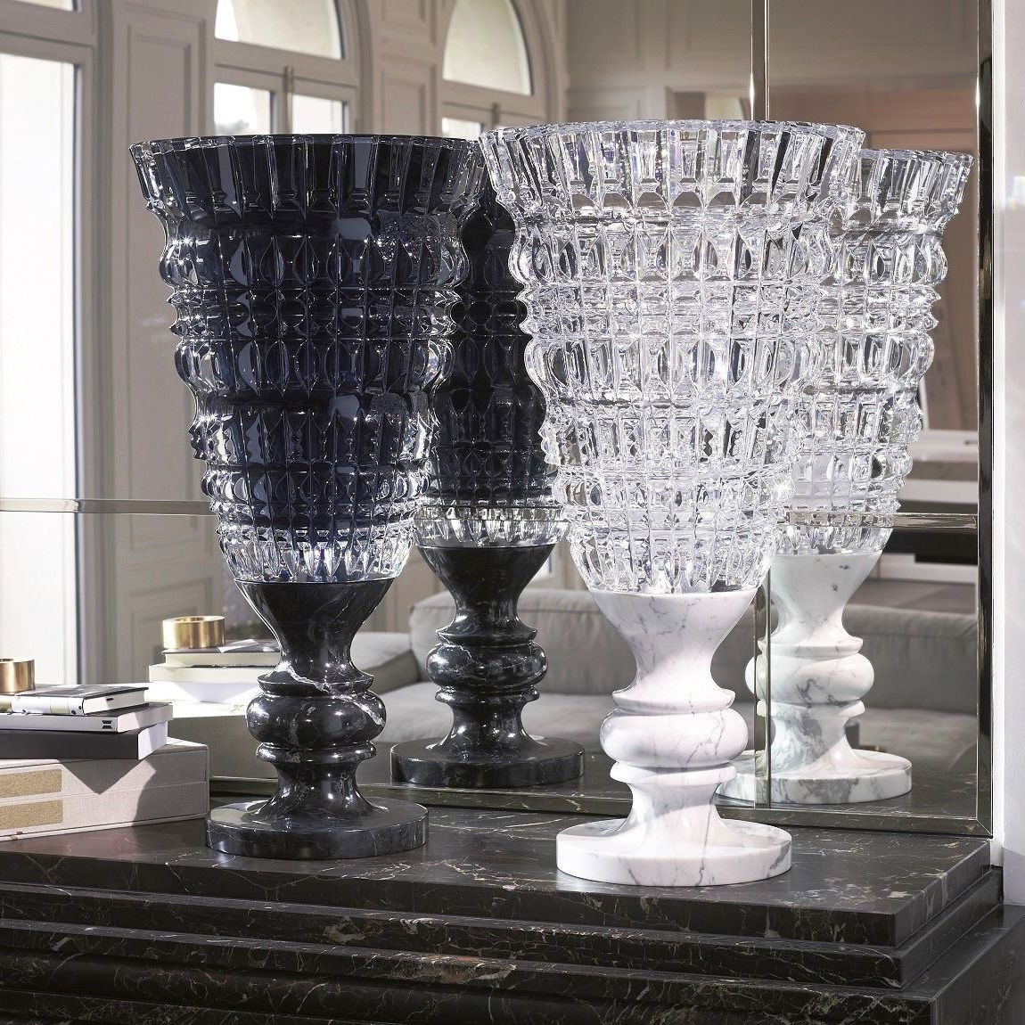 baccarat tornado crystal vase of baroque style vase crystal marble by marcel wanders new for baroque style vase crystal marble by marcel wanders new antique