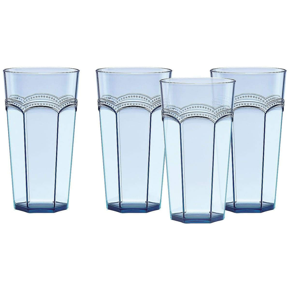 badash crystal vase of lenox drinkware giftware gallery in lenox french perle melamine aqua highball glasses set of 4 drinkware misc giftware gallery 688