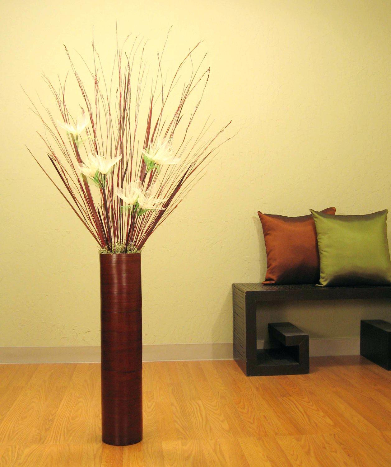 Bamboo Flower Vase Of Large Floor Vase Decor Vases with Bamboo Sticks Kcscienceinc org Regarding Large Floor Vase Decor Vases with Bamboo Sticks