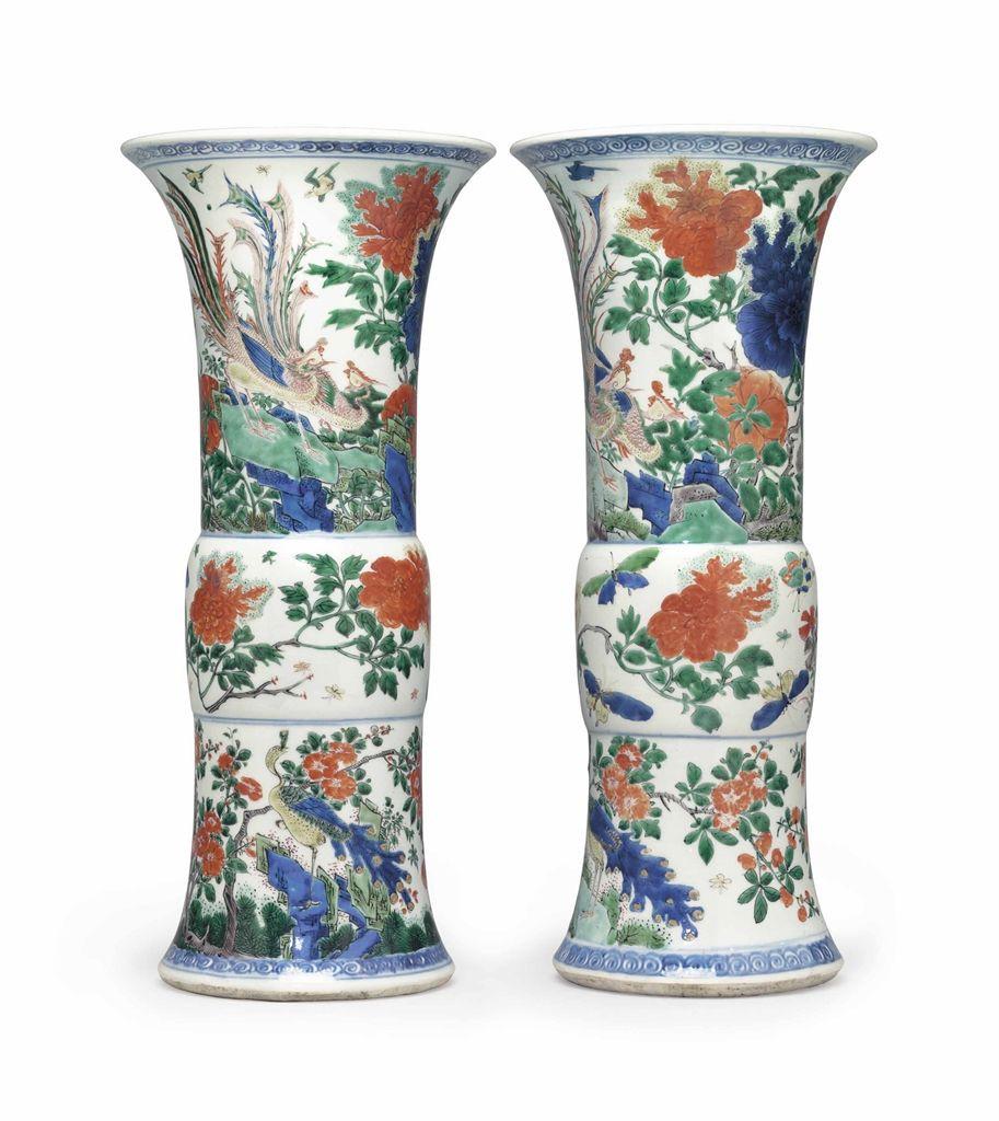 beaker flower vase of wucai beaker vases art of asia pinterest for wucai beaker vases