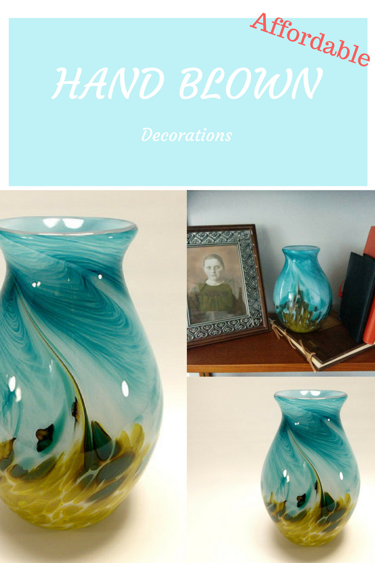 beautiful colored glass vases of beautiful spring summer vase to buy hand blown art glass vase in inside beautiful spring summer vase to buy hand blown art glass vase in bright teal