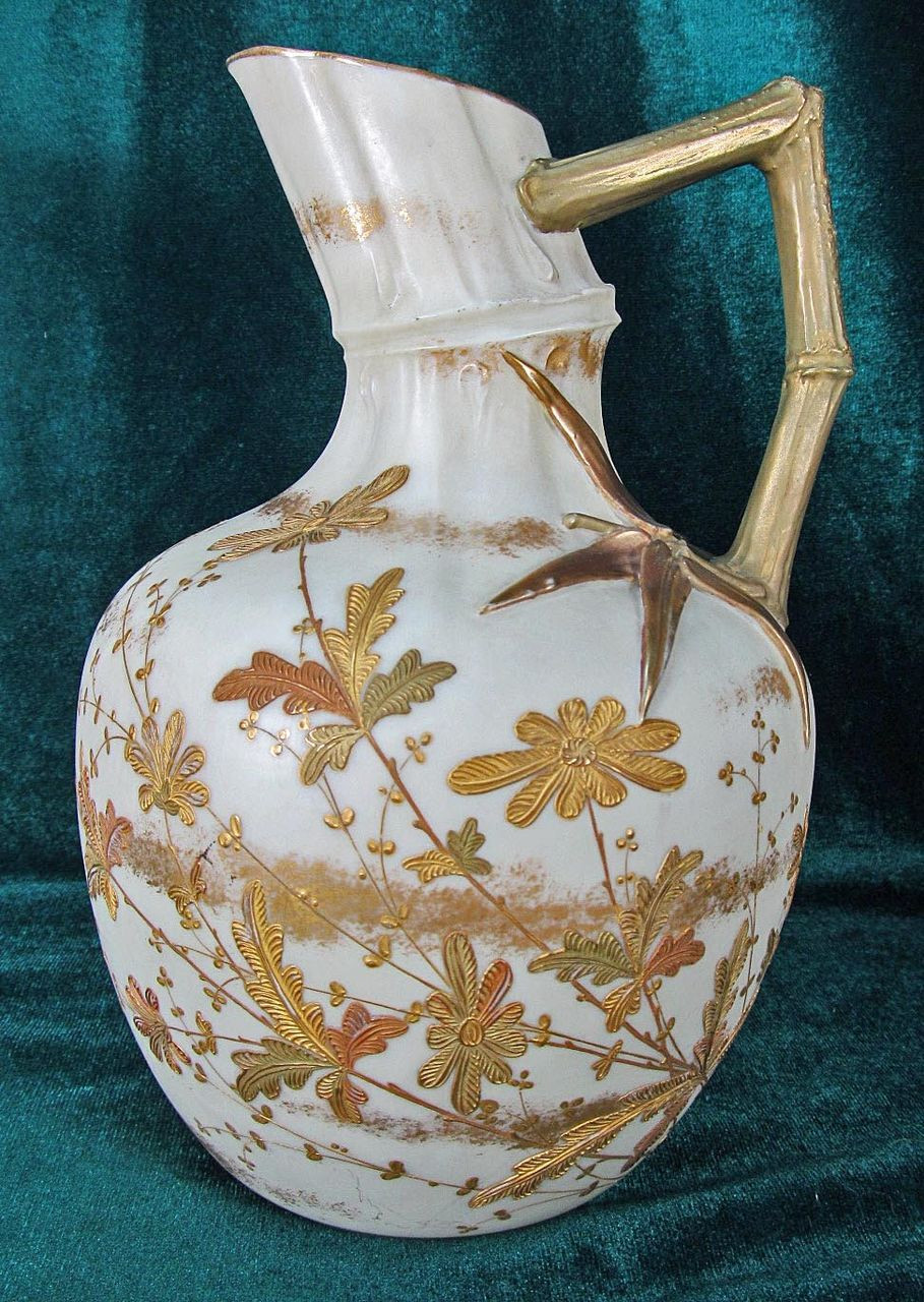 belleek vase ebay of ott brewer american belleek pitcher bamboo bb belleek usa with ott brewer american belleek pitcher bamboo