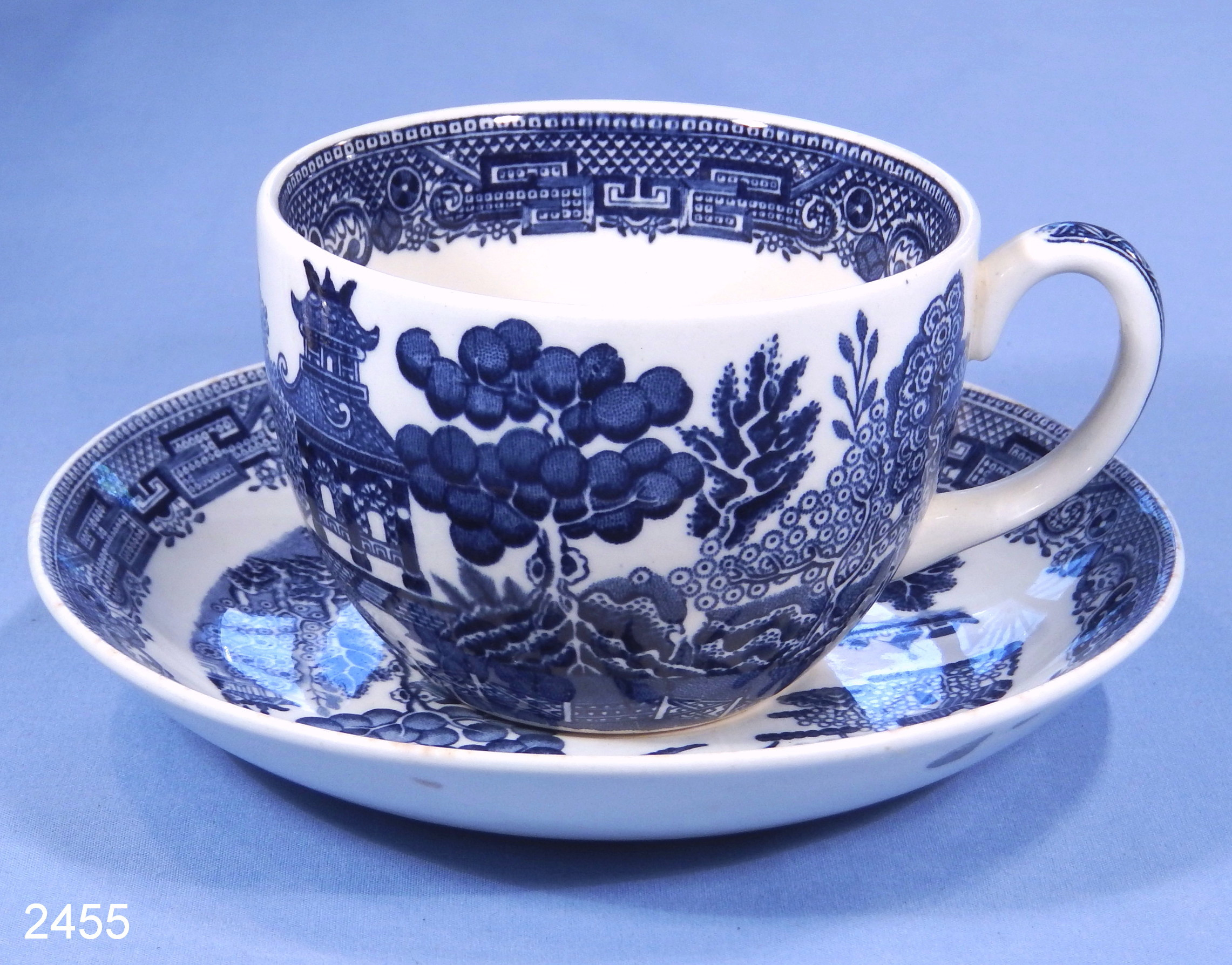belleek vase patterns of wedgwood willow pattern vintage china tea cup and saucer sold regarding wedgwood willow pattern vintage china tea cup and saucer