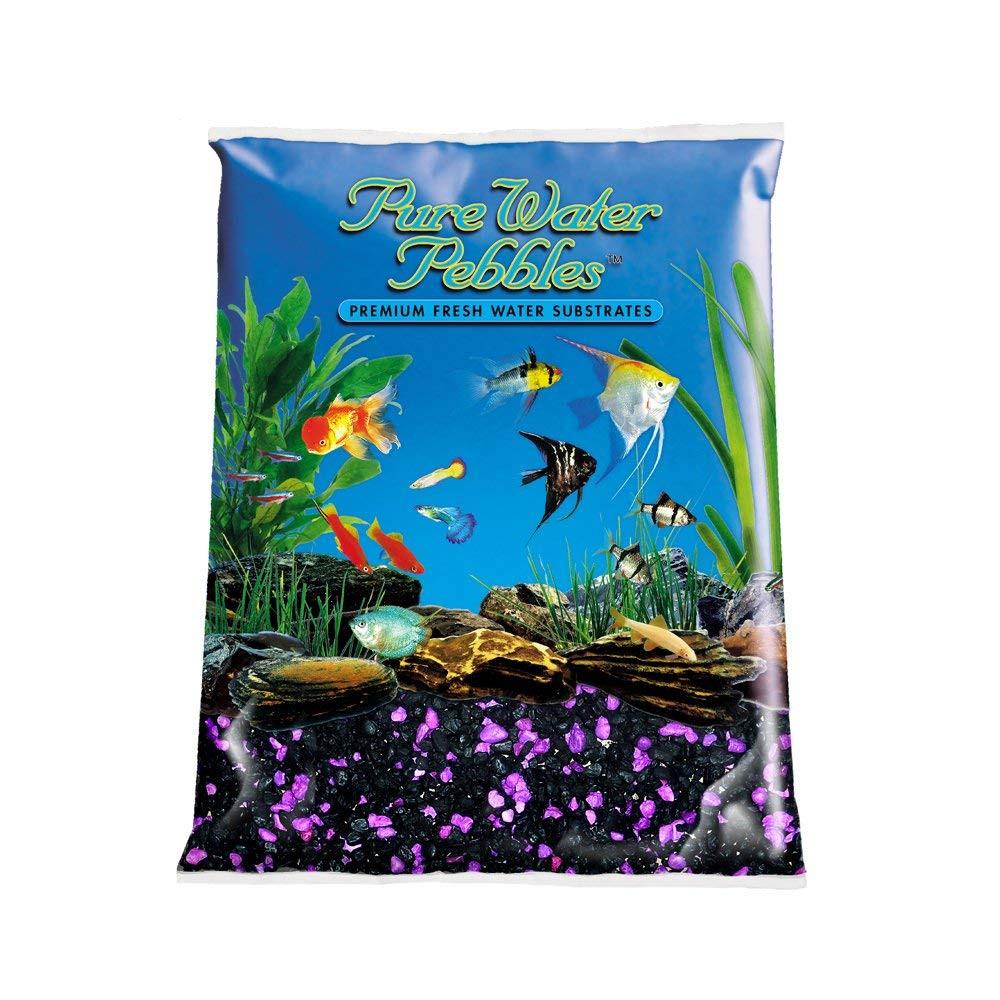 betta fish plant vase of amazon com pure water pebbles aquarium gravel 5 pound blackberry pertaining to amazon com pure water pebbles aquarium gravel 5 pound blackberry glo aquarium decor gravel pet supplies