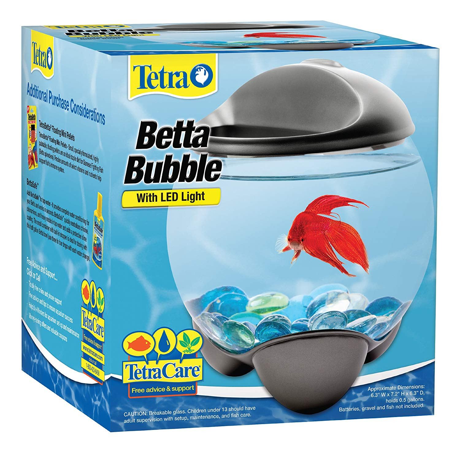 Betta Vase Kit Of Amazon Com Tetra 29263 Betta Bubble Betta Bowl with Built In Led with Amazon Com Tetra 29263 Betta Bubble Betta Bowl with Built In Led Light Fish Bowls Pet Supplies