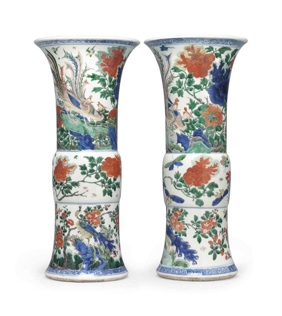 big chinese vase of wucai beaker vases art of asia pinterest pertaining to wucai beaker vases