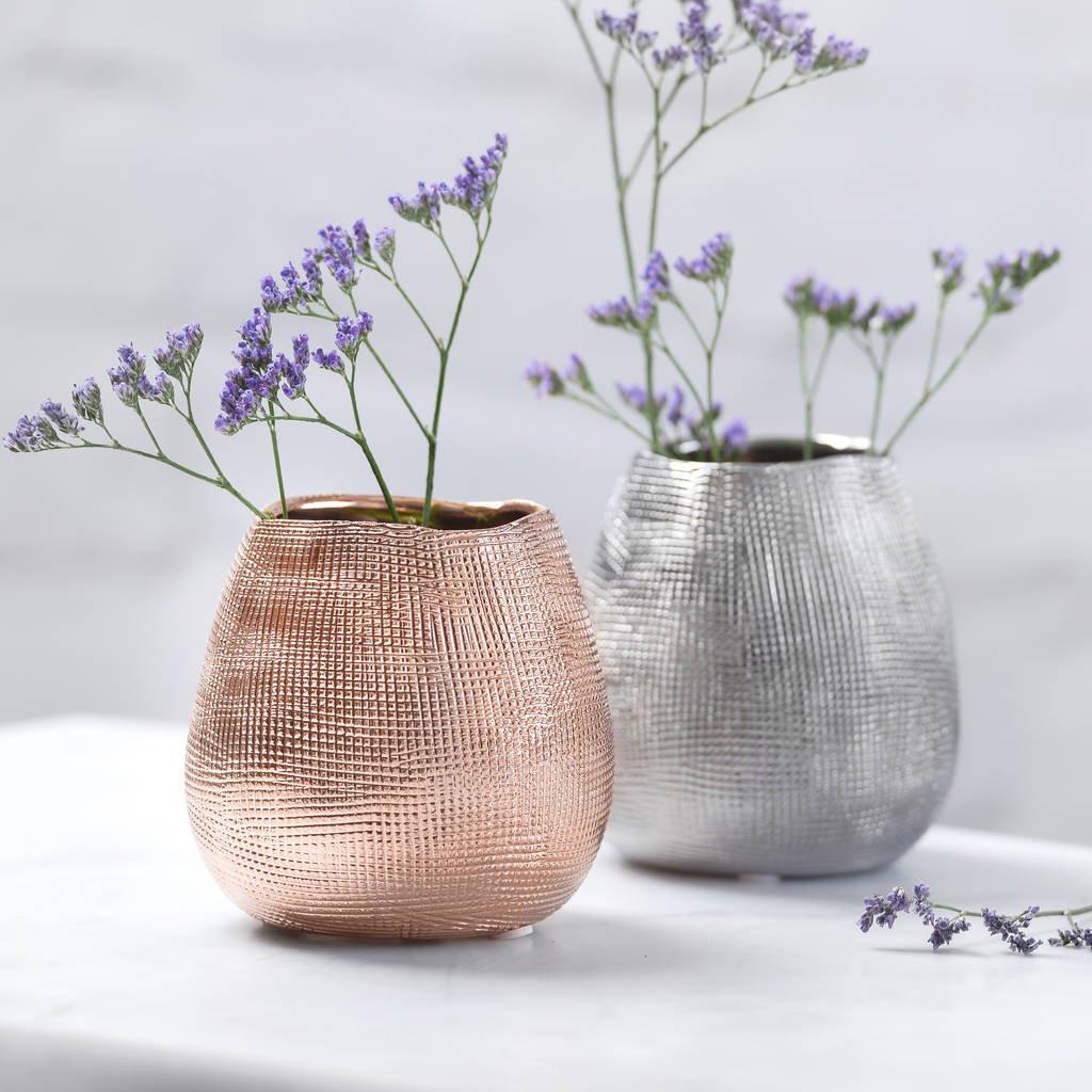 big gold vase of metallic rose gold or silver metal vase by the best room inside metallic rose gold or silver metal vase
