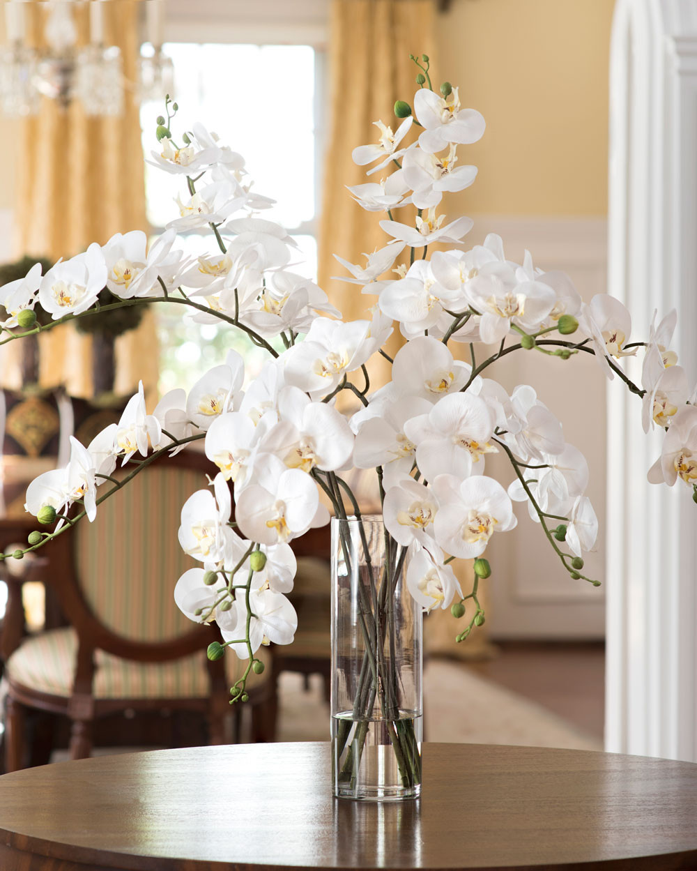 Big Vase Floral Arrangements Of Big Vase with Artificial Flowers Sevenstonesinc Com within Stylish Grand Phalaenopsis orchid Artificial Flower Design at