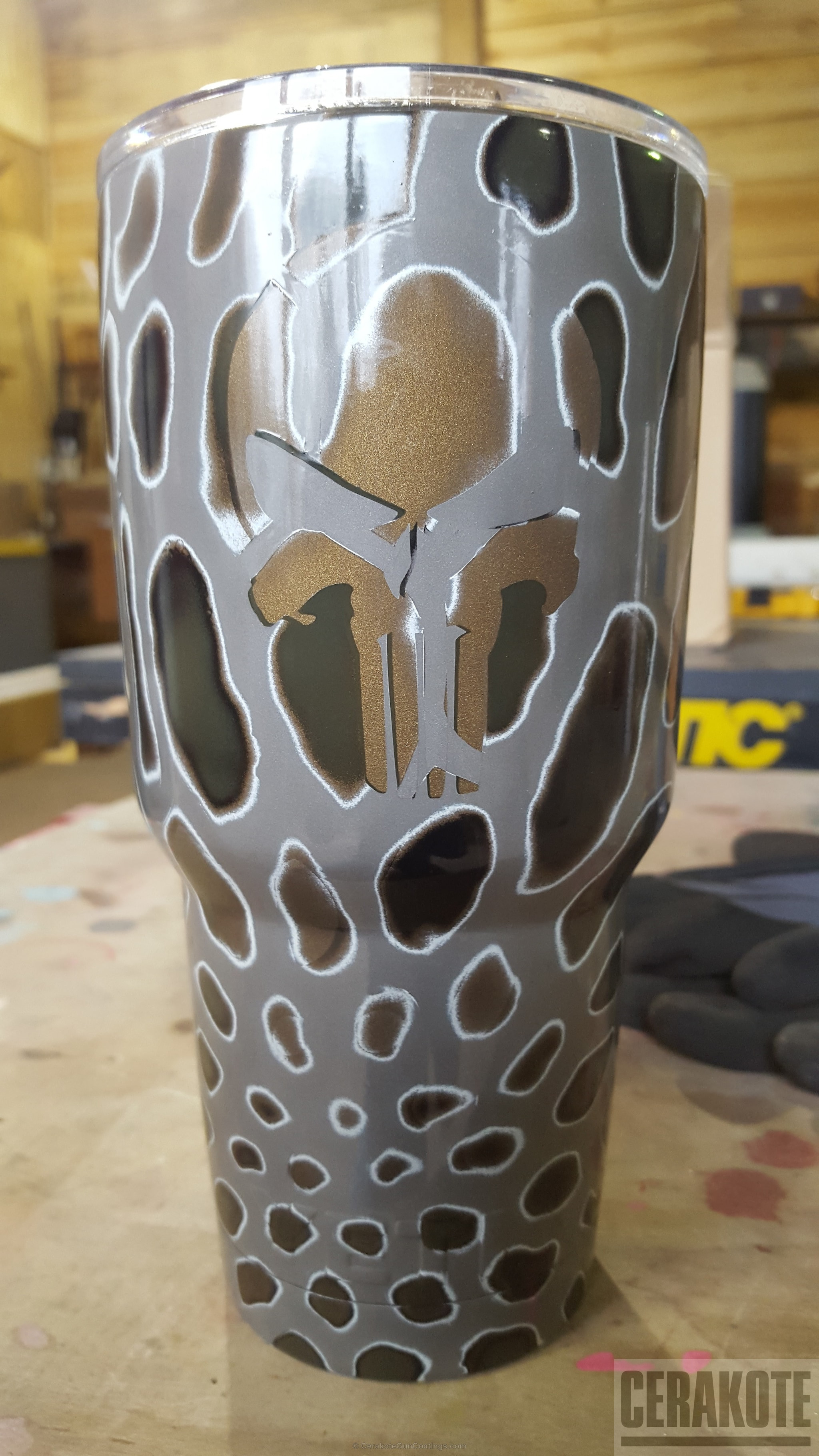 big white ceramic vase of cerakote coatings gallery detail within big version of the 1st project picture yeti cup burnt bronze h 148q