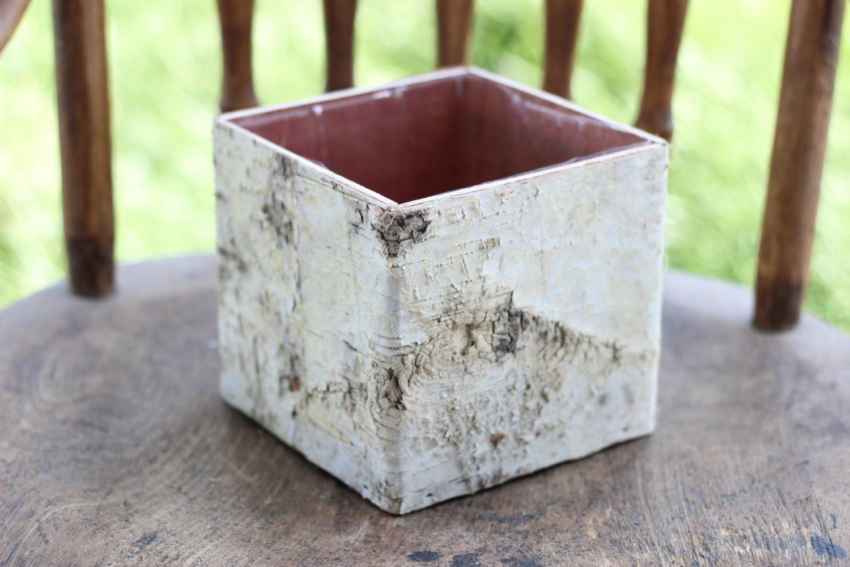 "birch bark vases for sale of birch bark vases wood boxes floral arrangement square etsy with regard to dŸ""Žzoom"